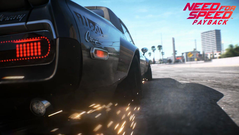 Need for Speed Payback: Автомобілі, Need For Speed, Need for Speed Payback, Mercury