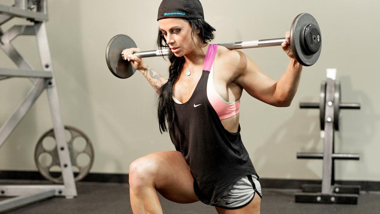 Fitness: Girl, Brunette, Woman, Braid, Bodybuilding, Weightlifting