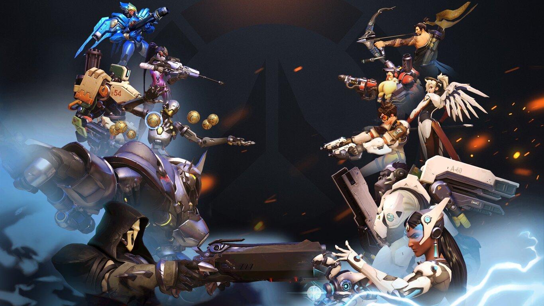 Overwatch: Hanzo, Tracer, Bastion, Mercy, Pharah, Reaper, Reinhardt, Symmetra, Torbjörn, Widowmaker, Winston, Zenyatta