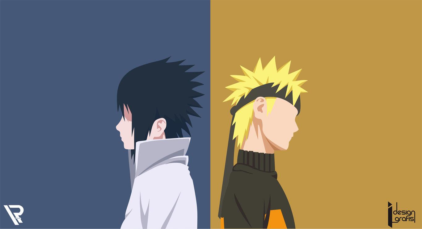Naruto: Naruto Uzumaki, Sasuke Uchiha