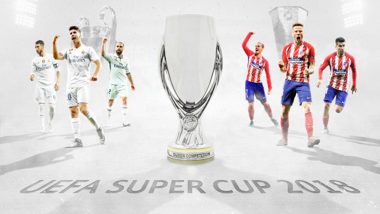 Soccer: Soccer, Real Madrid C.F., Atlético Madrid, UEFA Super Cup