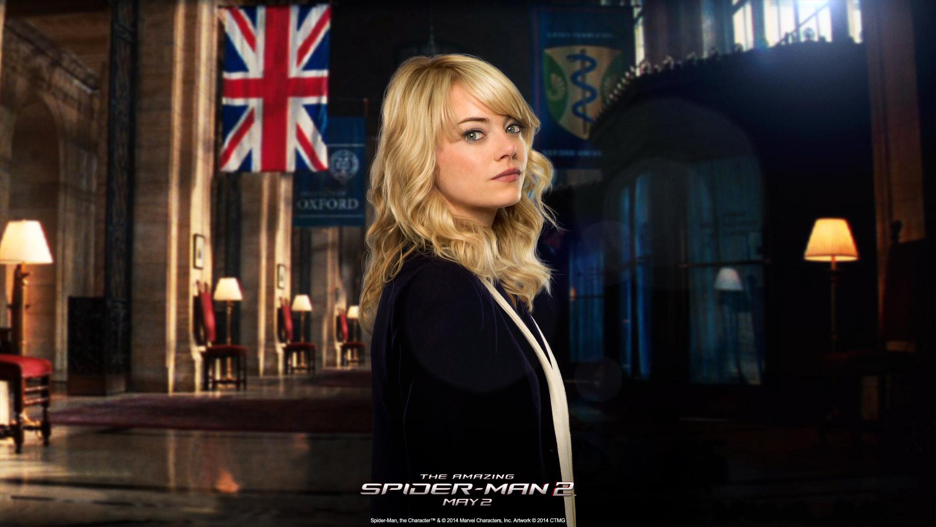 Emma Stone: Дівчата, Emma Stone, Gwen Stacy, The Amazing Spider-Man 2