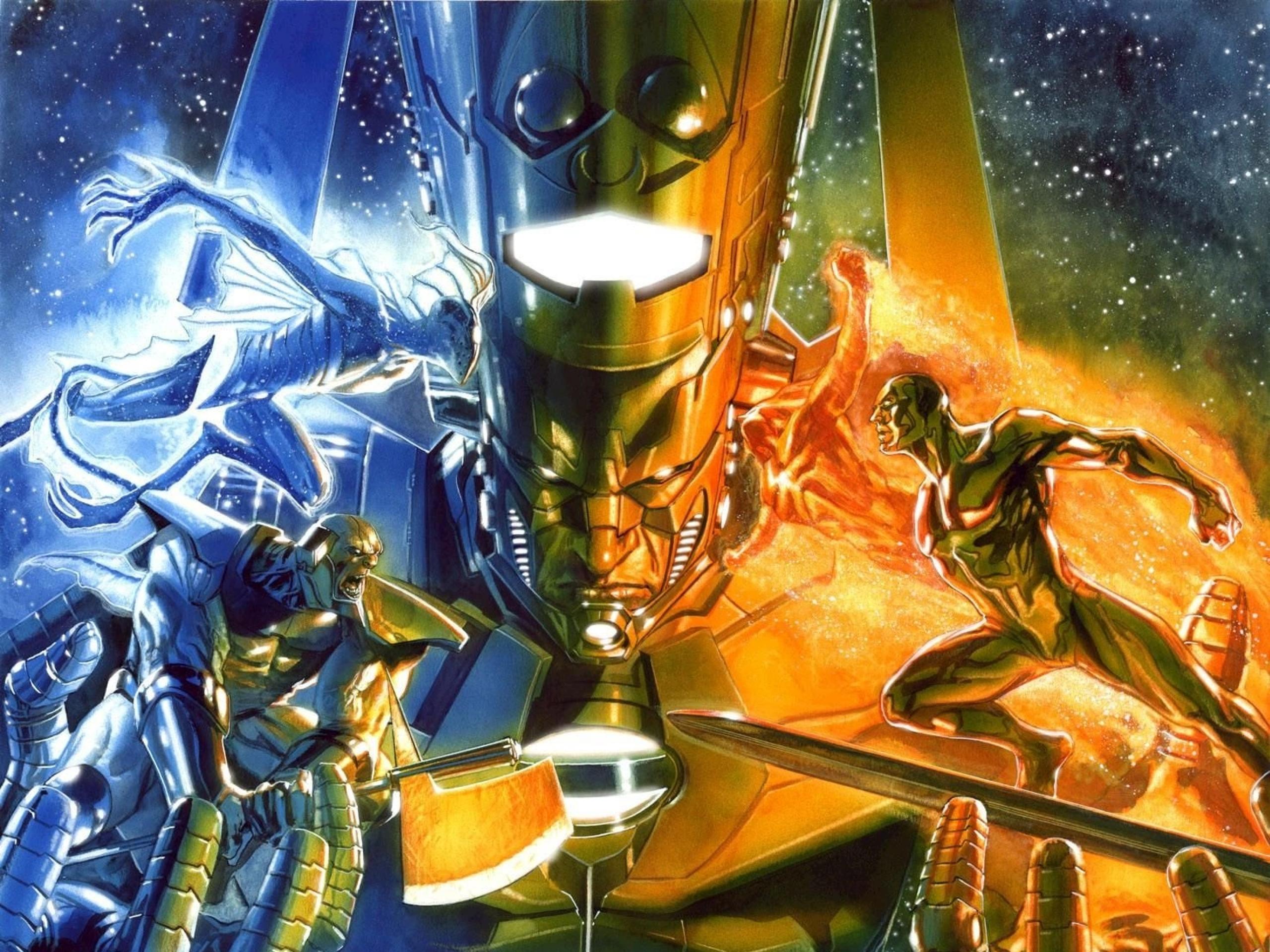 Annihilation: Heralds Of Galactus: Galactus, Silver Surfer