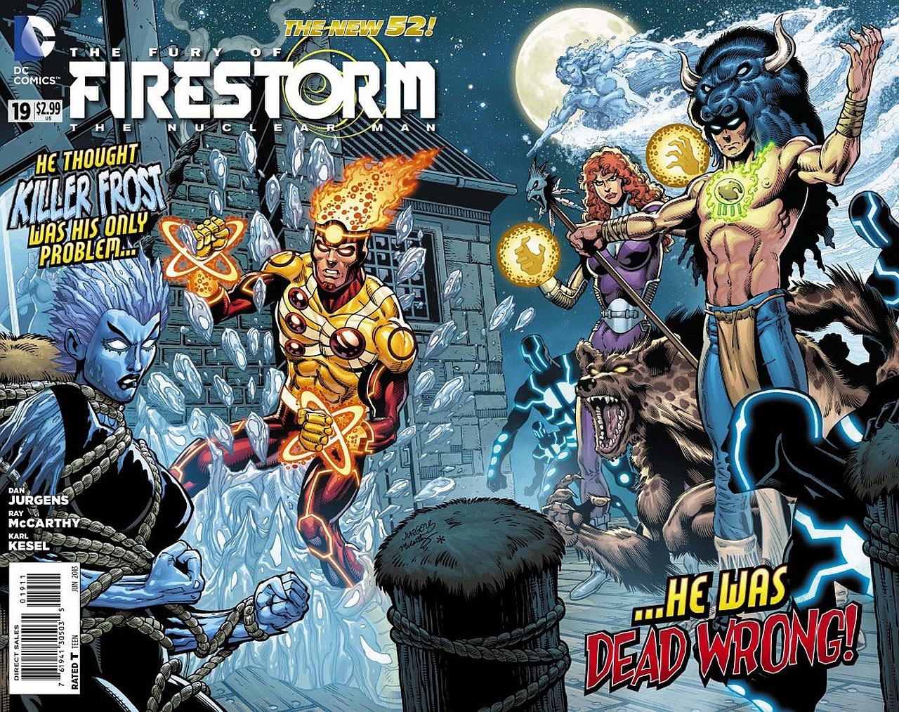 The Fury Of Firestorm: Firestorm
