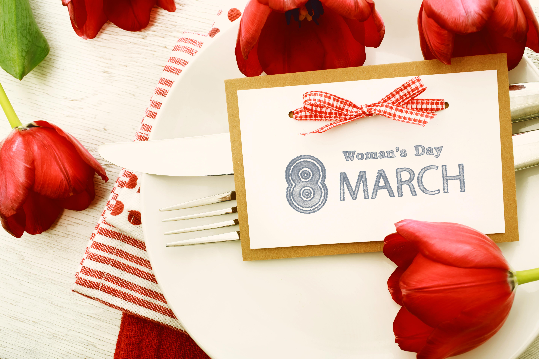 Women's Day: Flower, Red Flower, Women's Day, Tulip