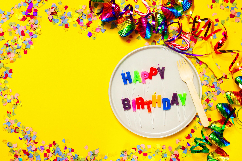 Birthday: Colors, Happy Birthday, Colorful, Celebration, Birthday, Confetti