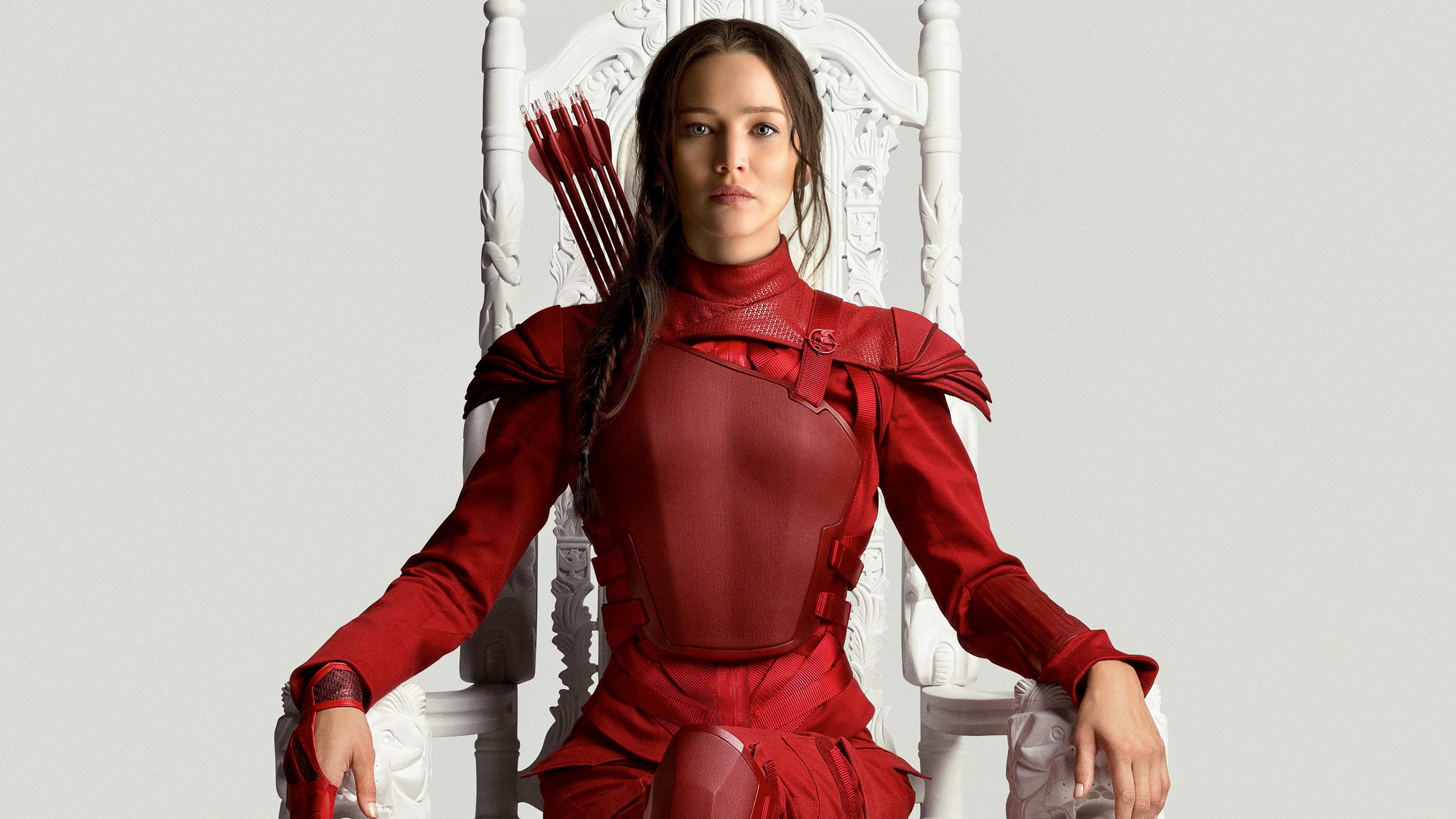 Jennifer Lawrence: Дівчата, Jennifer Lawrence, Katniss Everdeen, The Hunger Games: Mockingjay - Part 2