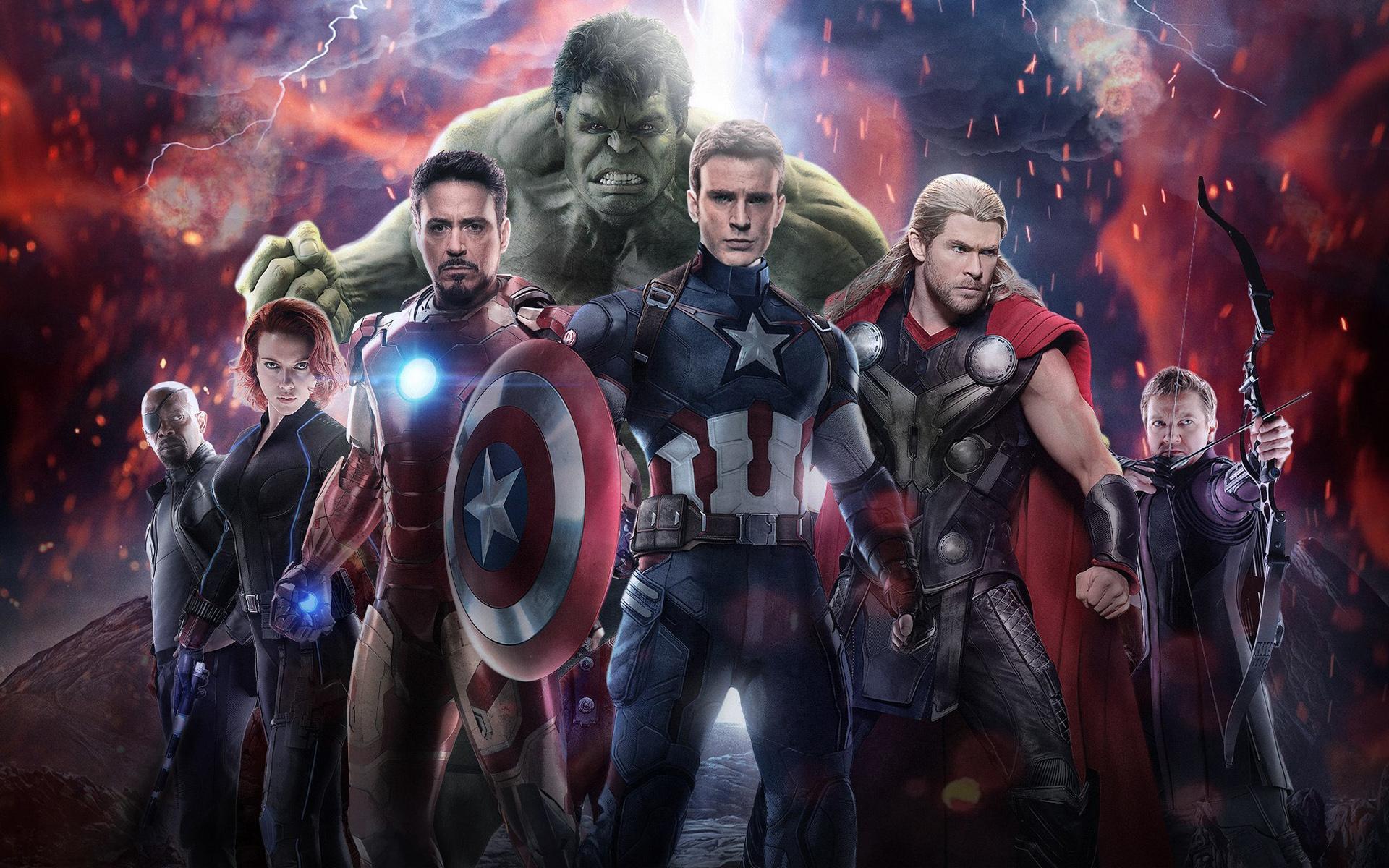 Scarlett Johansson: Black Widow, Captain America, Chris Evans, Кріс Хемсворт, Hawkeye, Hulk, Iron Man, Jeremy Renner, Robert Downey Jr., Scarlett Johansson, Thor, Дівчата, Avengers: Age of Ultron, Nick Fury, Samuel L. Jackson