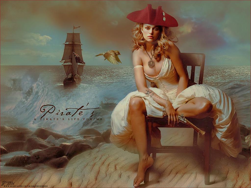Keira Knightley: Блондинки, Жінки, Дівчата, Keira Knightley, Pirate
