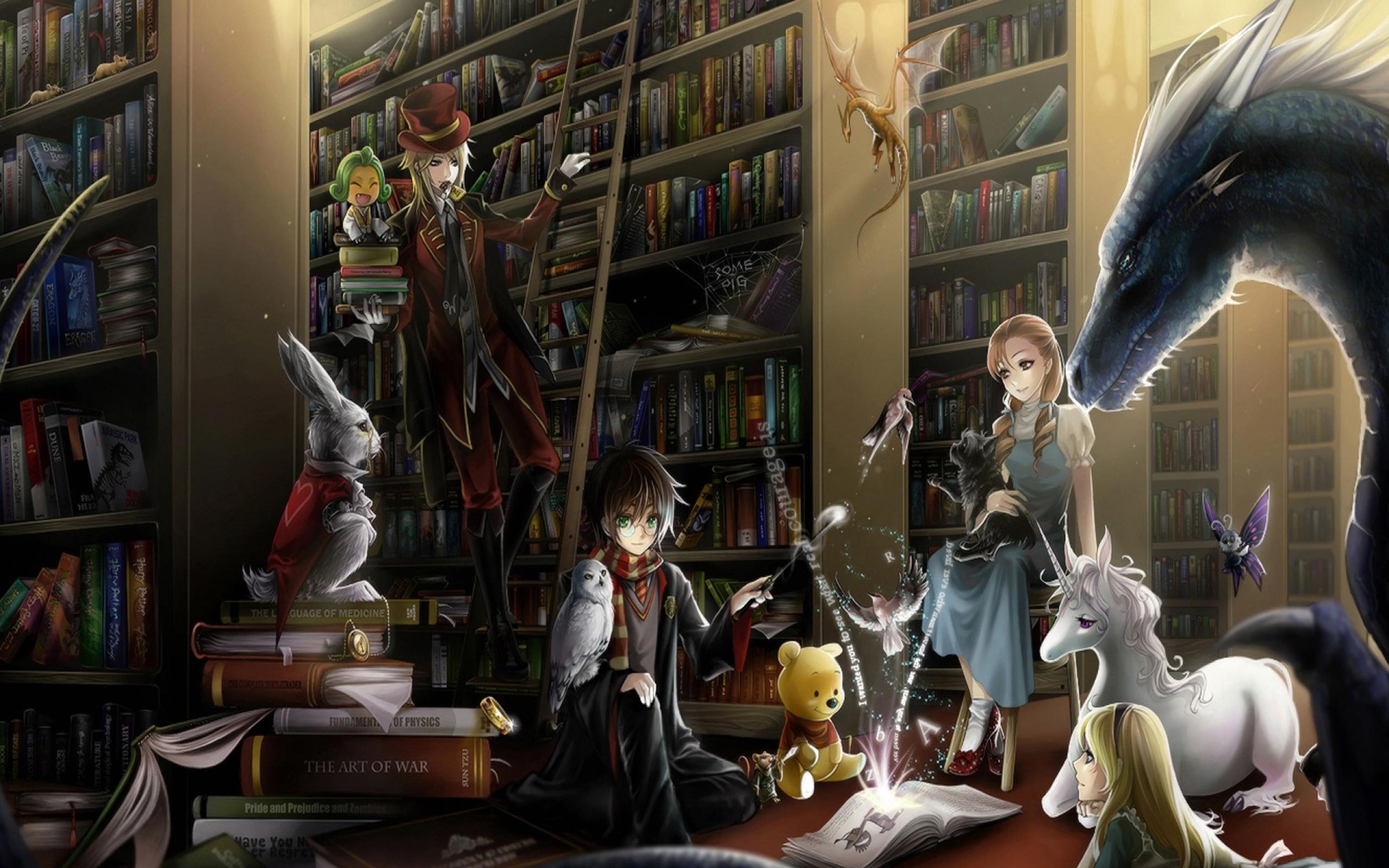 Library: Фентезі, Book, Library