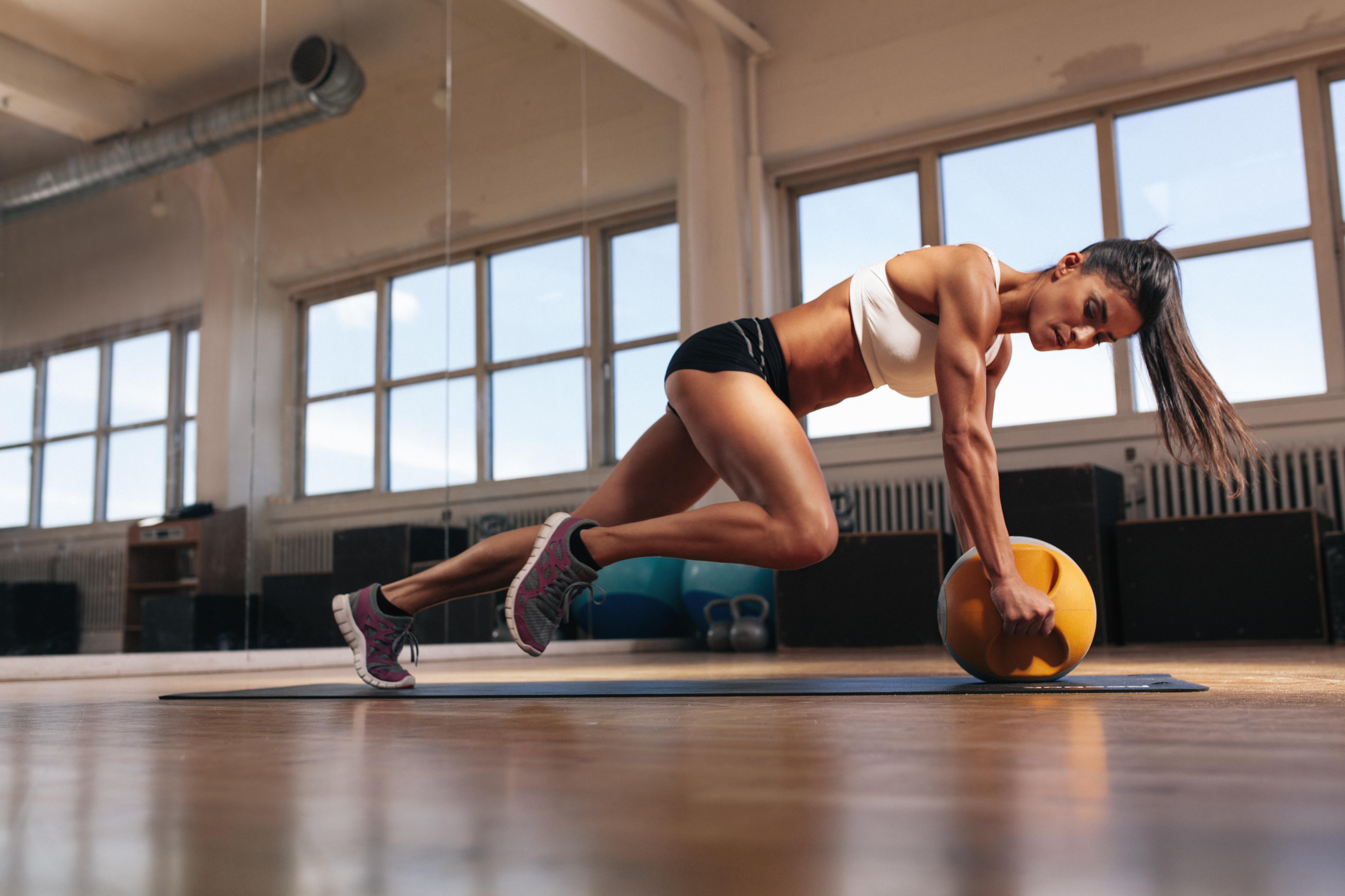 Fitness: Brunette, Woman, Fitness