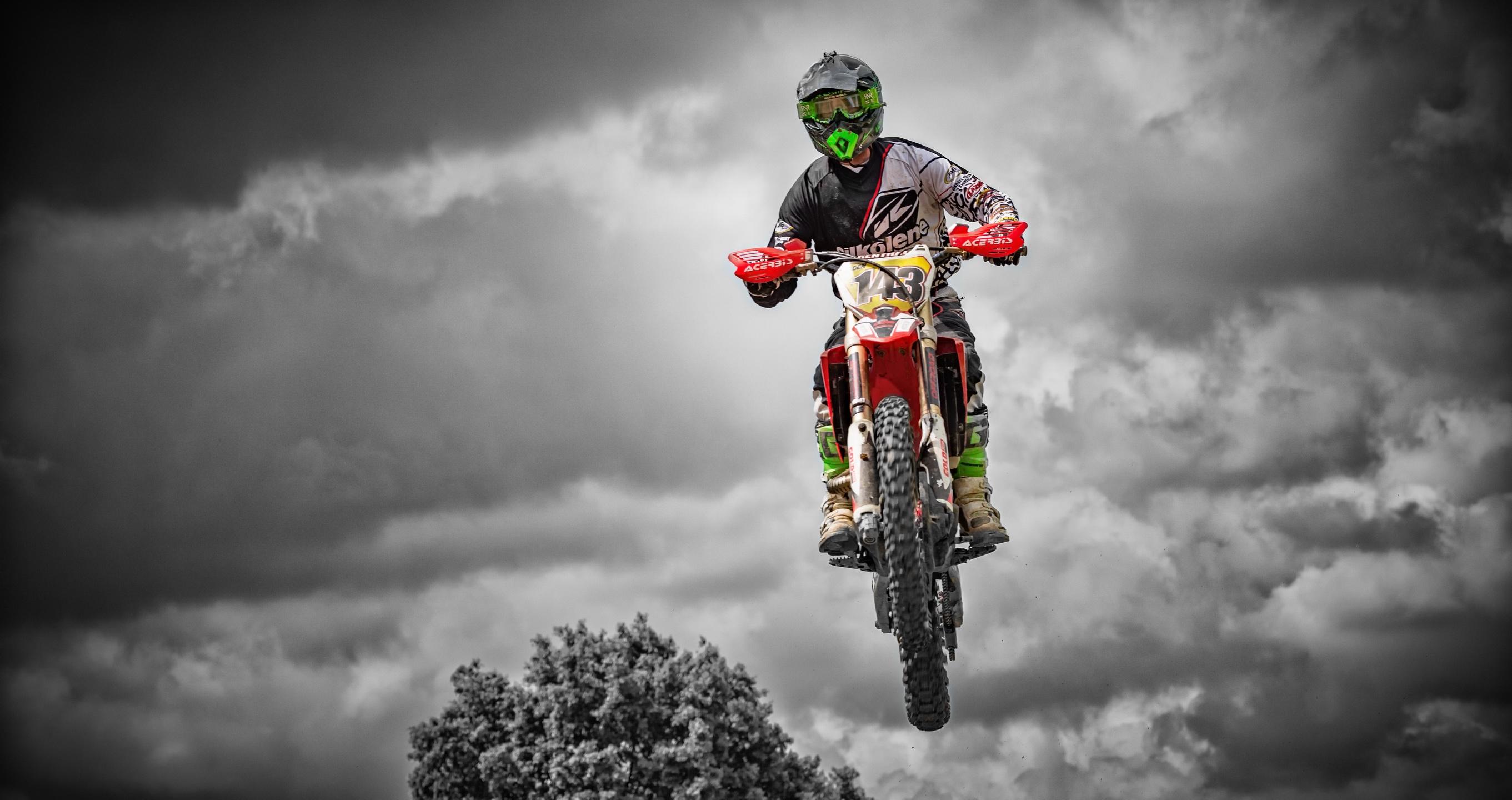 Motocross: Cloud, Motorcycle, Motocross