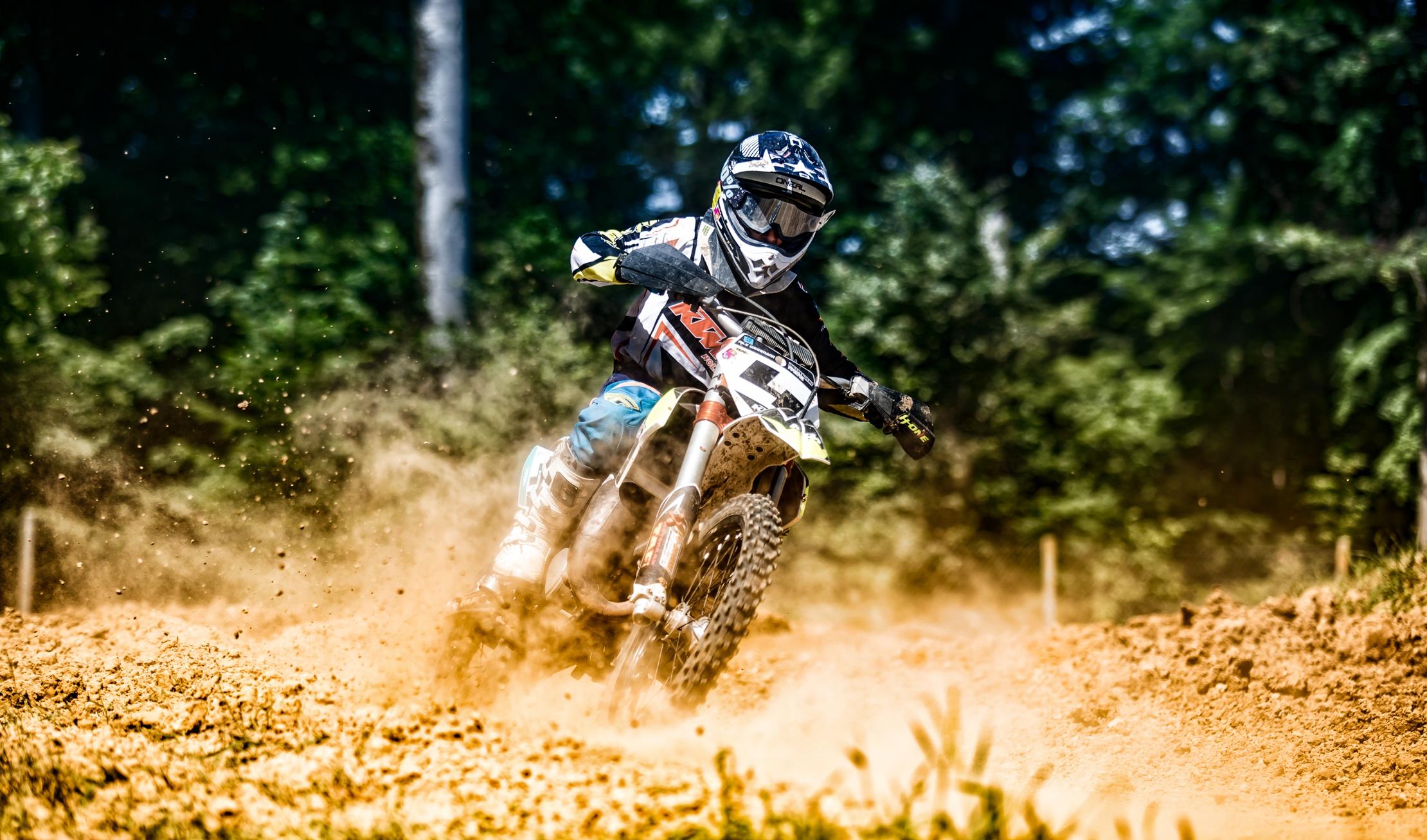 Motocross: Depth Of Field, Motorcycle, Motocross