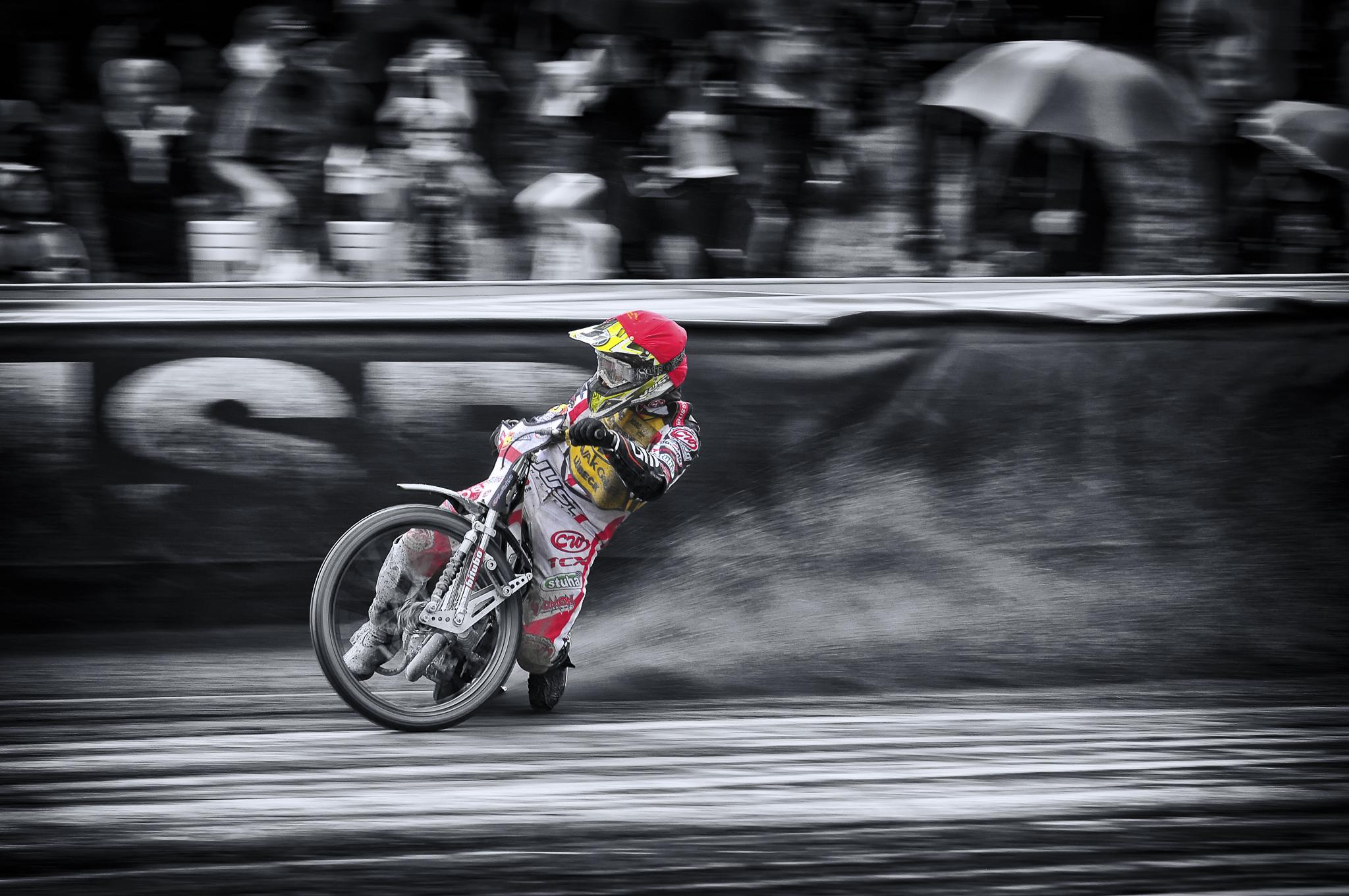 Motocross: Motorcycle, Motocross, Selective Color