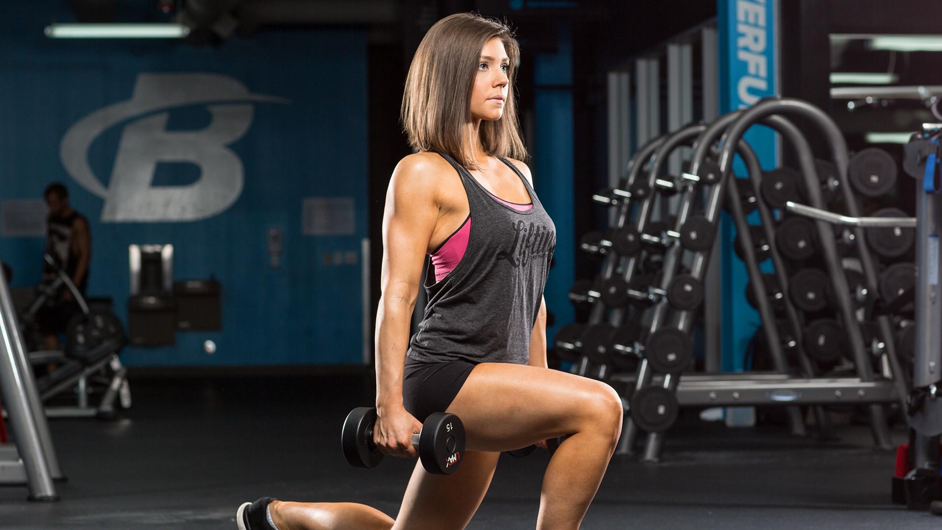 Fitness: Girl, Brunette, Woman, Blue Eyes, Fitness