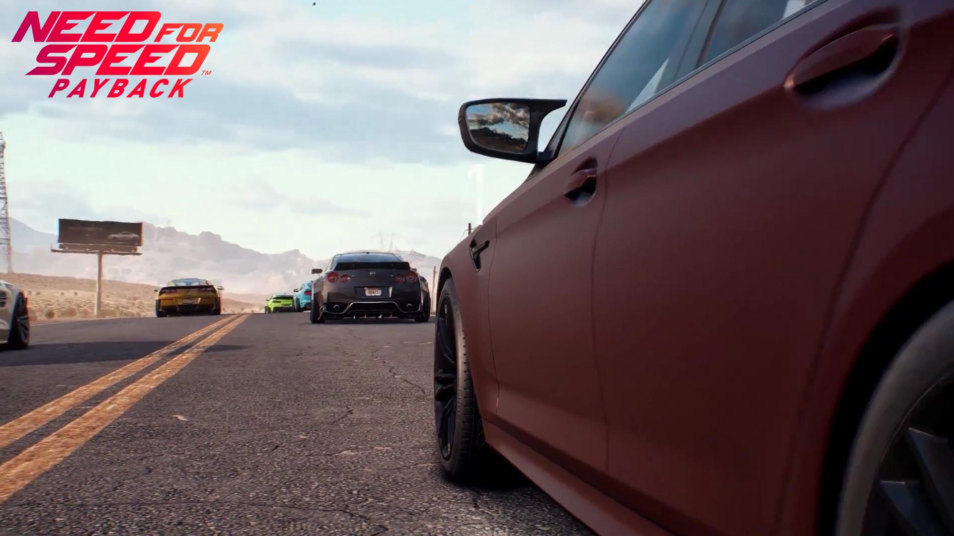 Need for Speed Payback: Автомобілі, Need For Speed, Need for Speed Payback