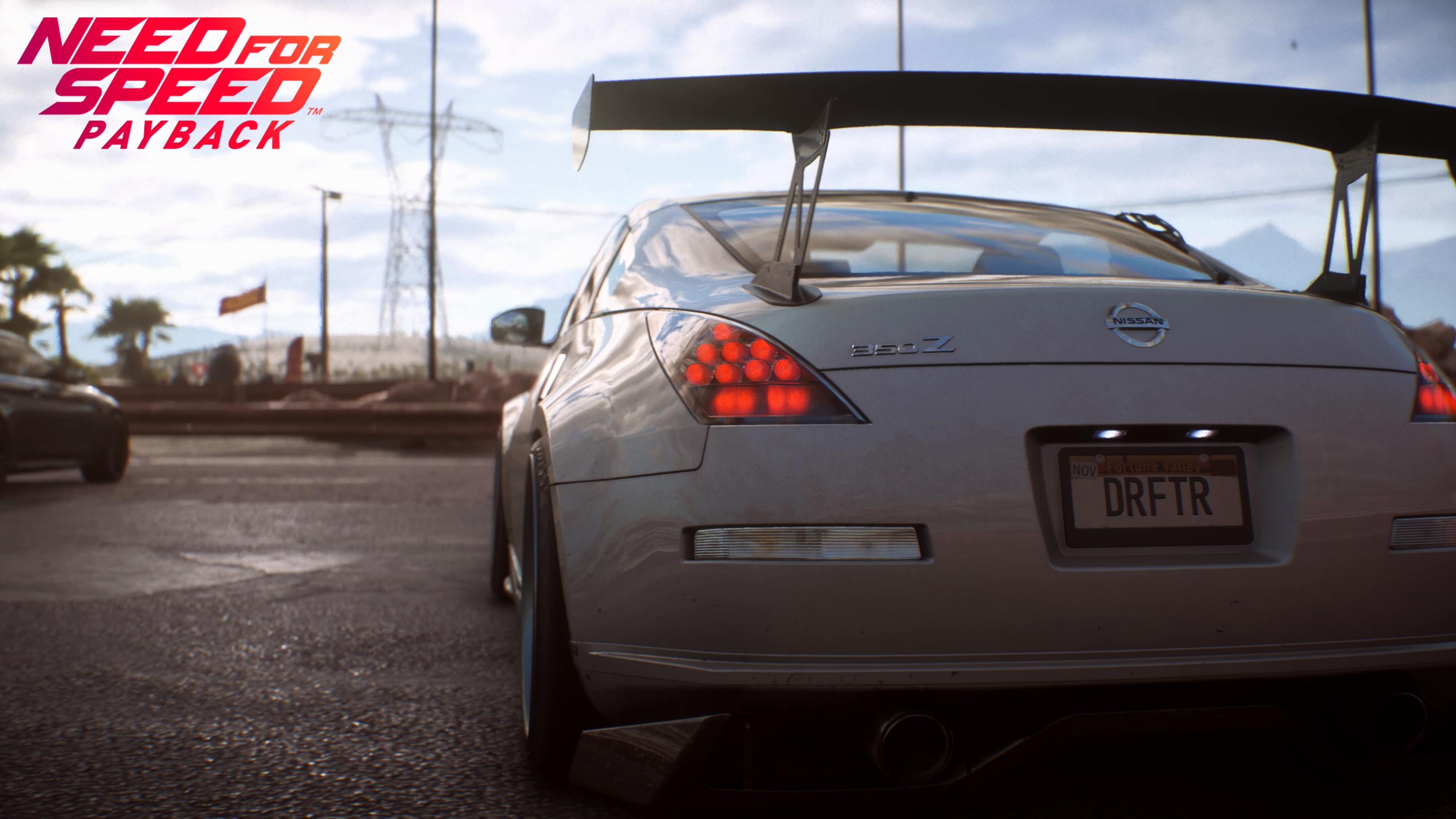 Need for Speed Payback: Автомобілі, Nissan, Need For Speed, Need for Speed Payback, Nissan 350Z