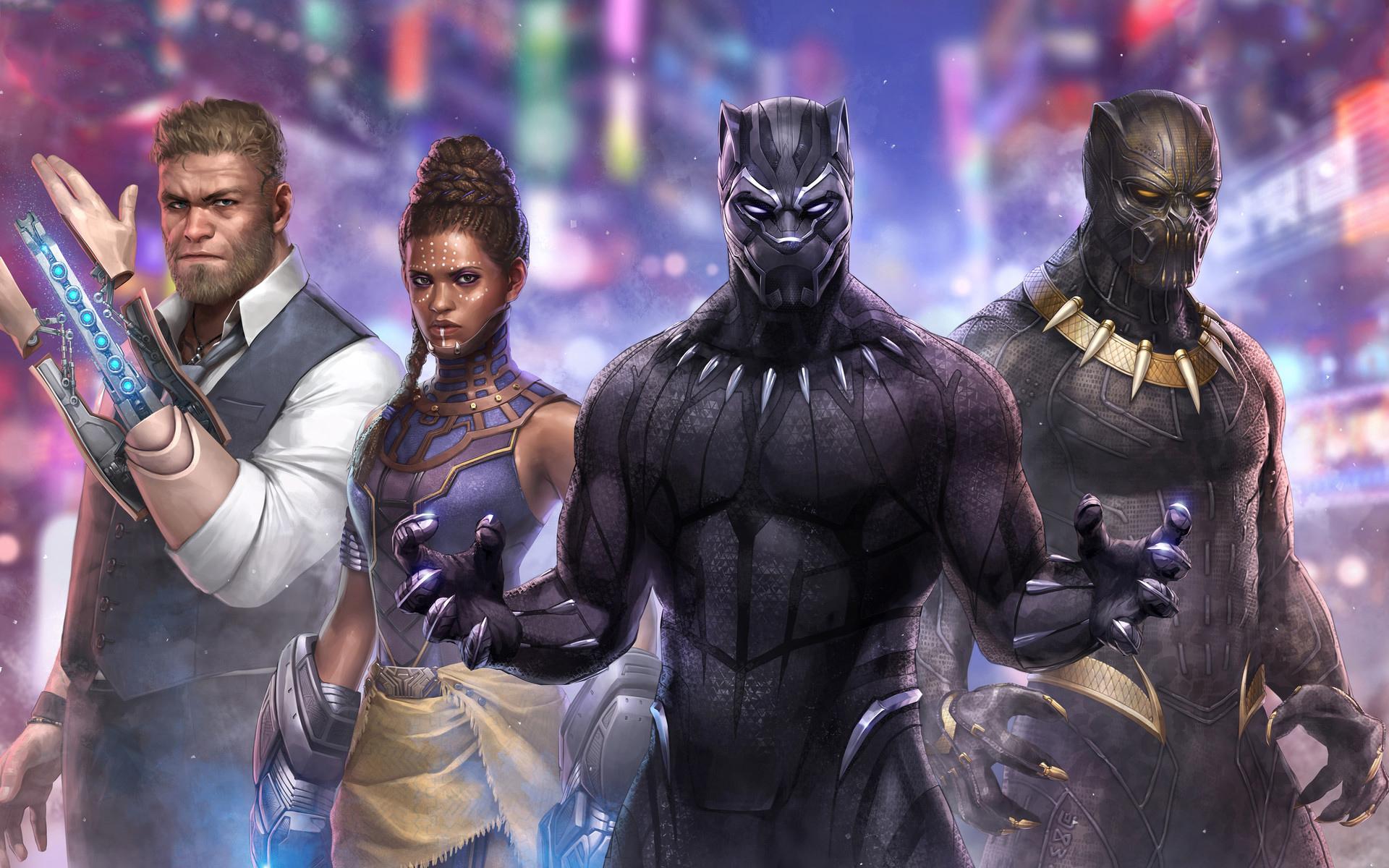 Black Panther: Artwork, Black Panther