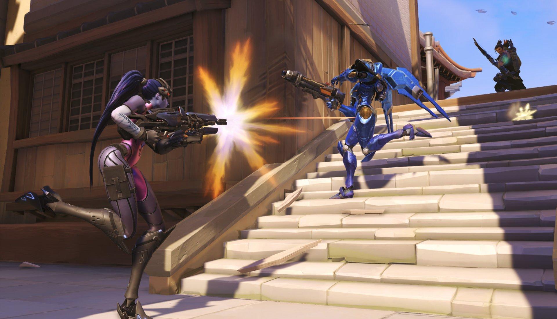Overwatch: Hanzo, Pharah, Widowmaker