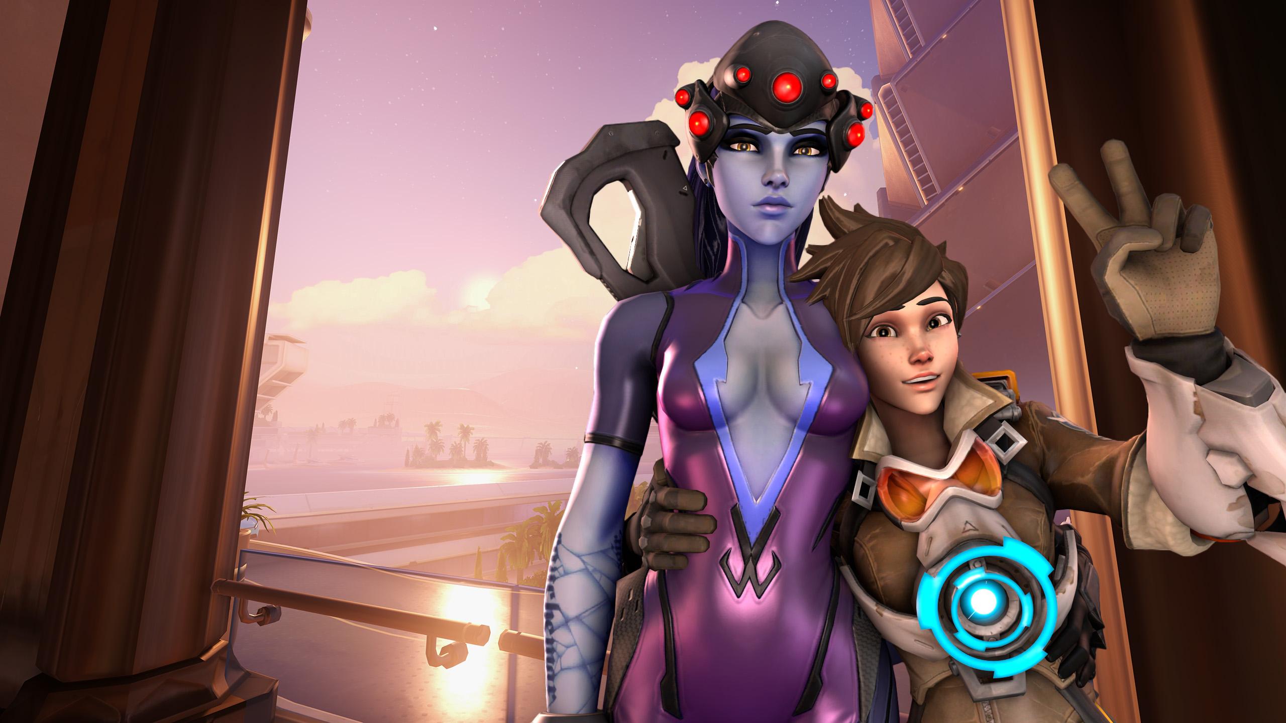 Overwatch: Tracer, Widowmaker