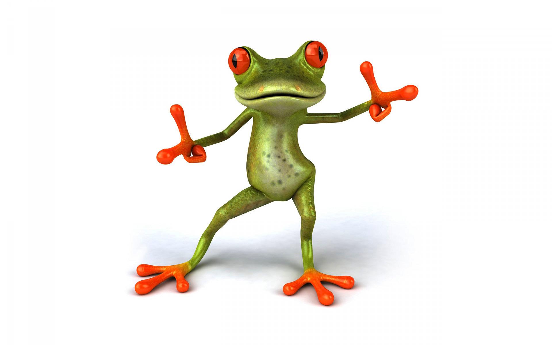 3D: Frog
