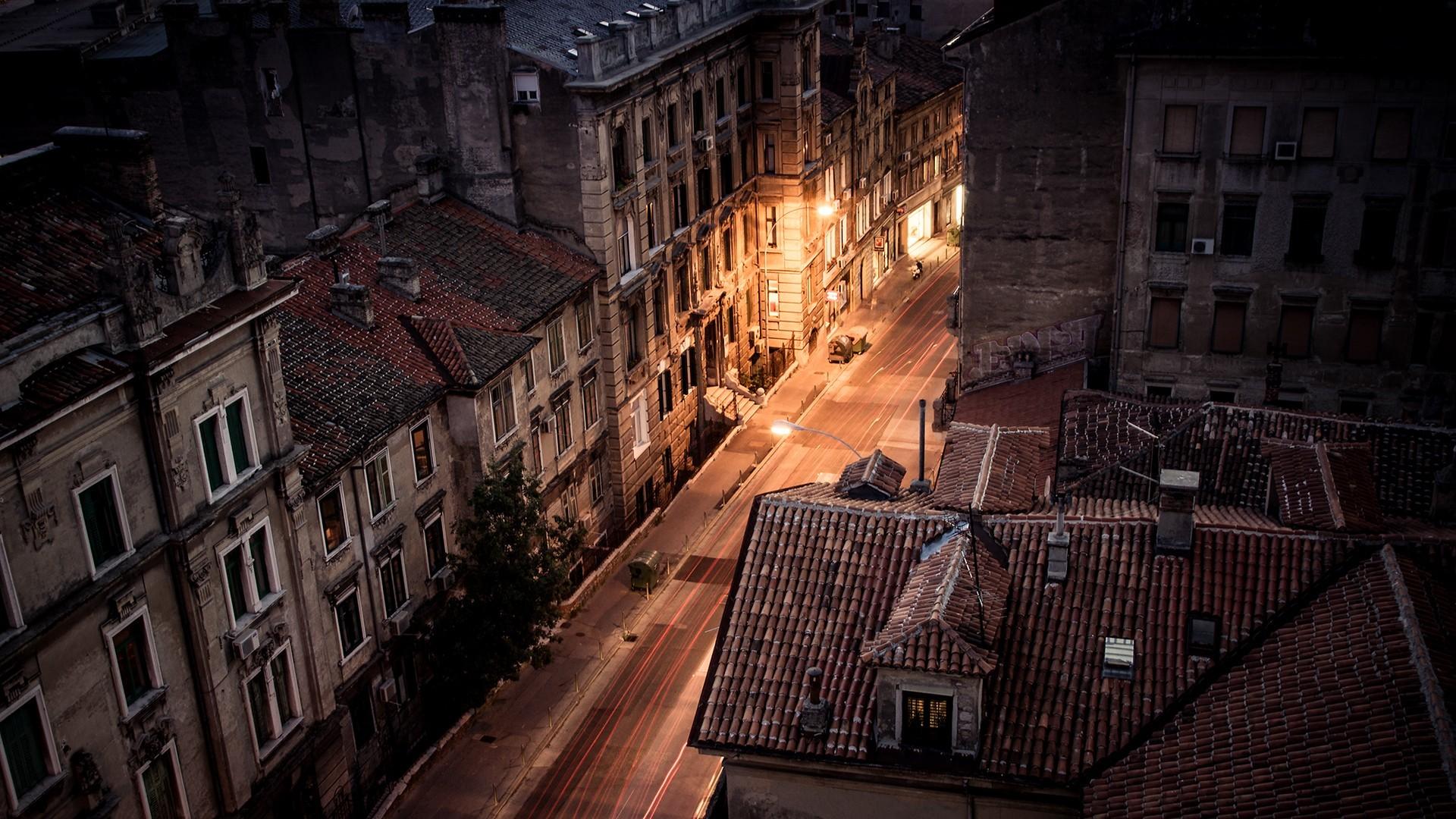 Road: Street, City, Building