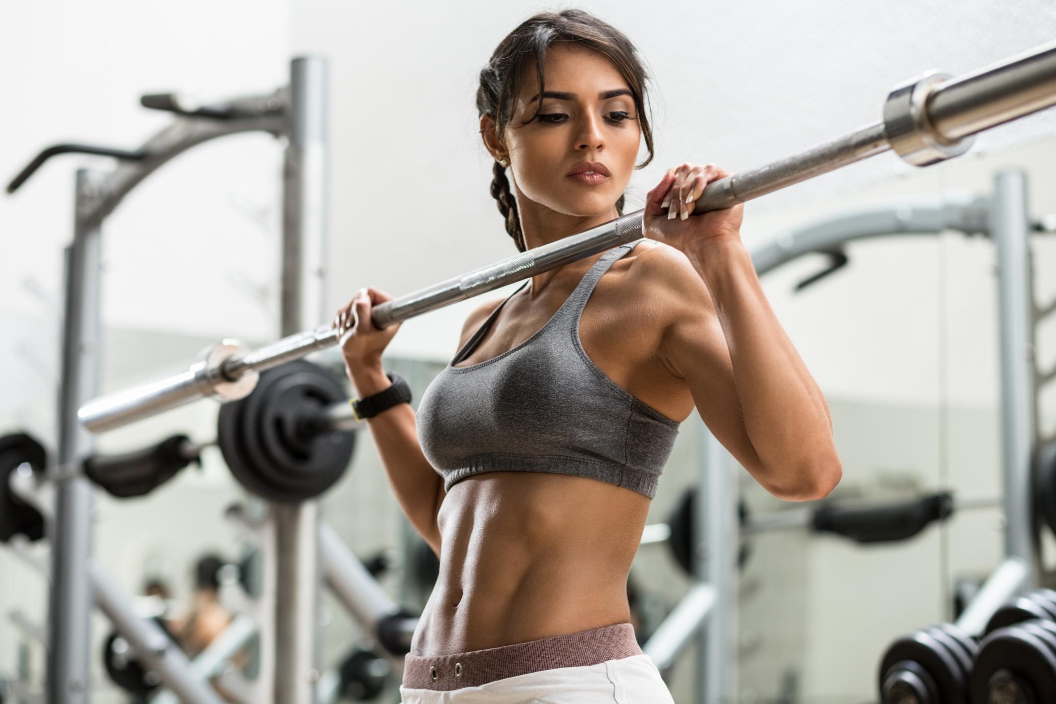 Fitness: Girl, Brunette, Woman, Model, Fitness